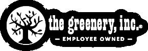 greenery logo all white